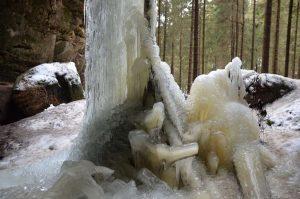 Velky ledova sloup