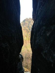 Durchblick zum Rauschenstein