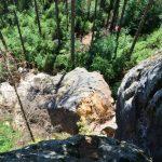 Felssturz - Blick vom Schäferstein