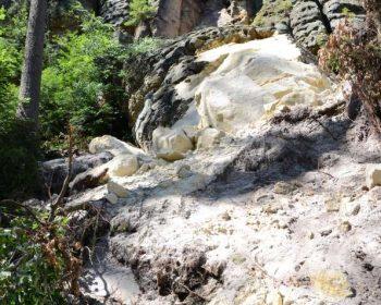Felssturz Schäferstein - Ansicht unten