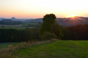Sunset Pfarrberg Lichtenhain 23.08.2019