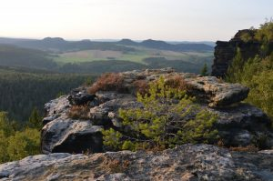 Tafelbergpanorama am Horizont