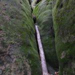 ehemaliger Aufstieg im Gleitmanns Loch