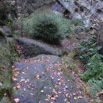 Steilstufe im Ausgang Försters Loch