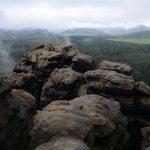 Tafelberge im Nebel