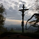 relativ neues Kruzifix